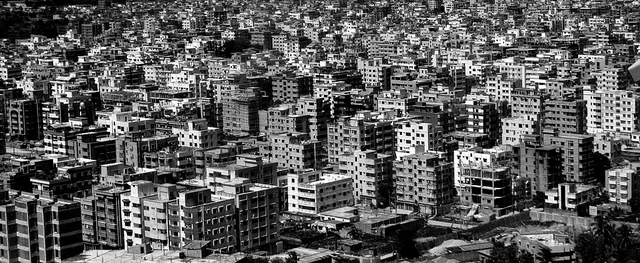 Dhaka - a growing city. Climate and Migration