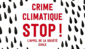 New book: stop climate crimes – the call of civil society. Our chapter explores migration and climate change