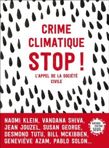 Stop climate crimes - book with chapter on migration, displacement and climate change. Alex Randall (UKCCMC) and Francios Gemene
